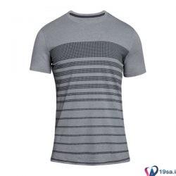تیشرت ورزشی مردانه آندرآرمور خاکستری طرح دار