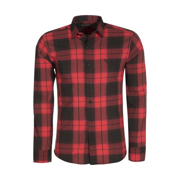 پیراهن قرمز چهارخونه