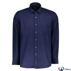 پیراهن مردانه آبی نفتی