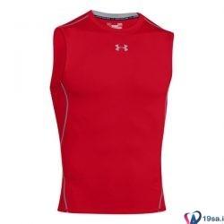 تاپ ورزشی مردانه آندر آرمور قرمز