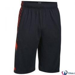 شورت ورزشی مردانه آندر آرمور قرمز مشکی