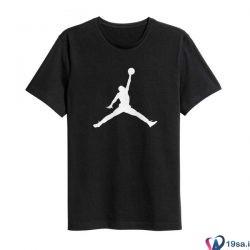 تی شرت ورزشی مردانه جردن مشکی