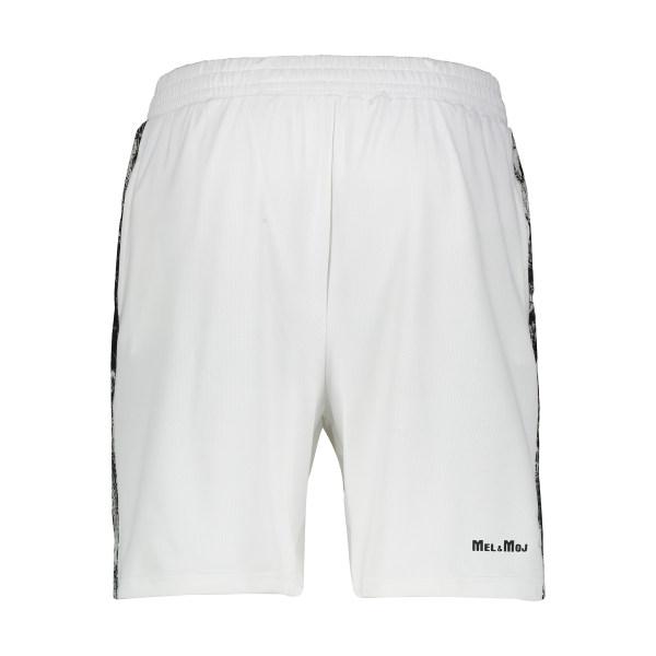 شلوارک ورزشی مردانه مل اند موژ سفید