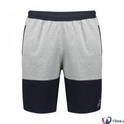شلوارک ورزشی مردانه تورال مشکی-سفید