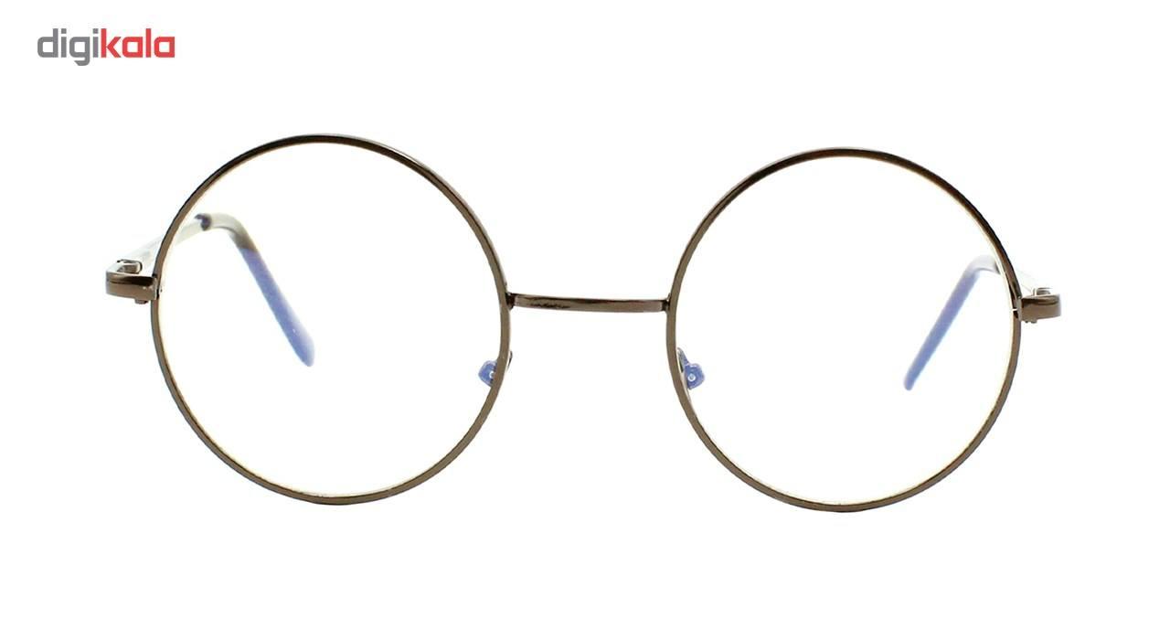 عینک ضد اشعه UV واته شیشه سفید فرم گرد