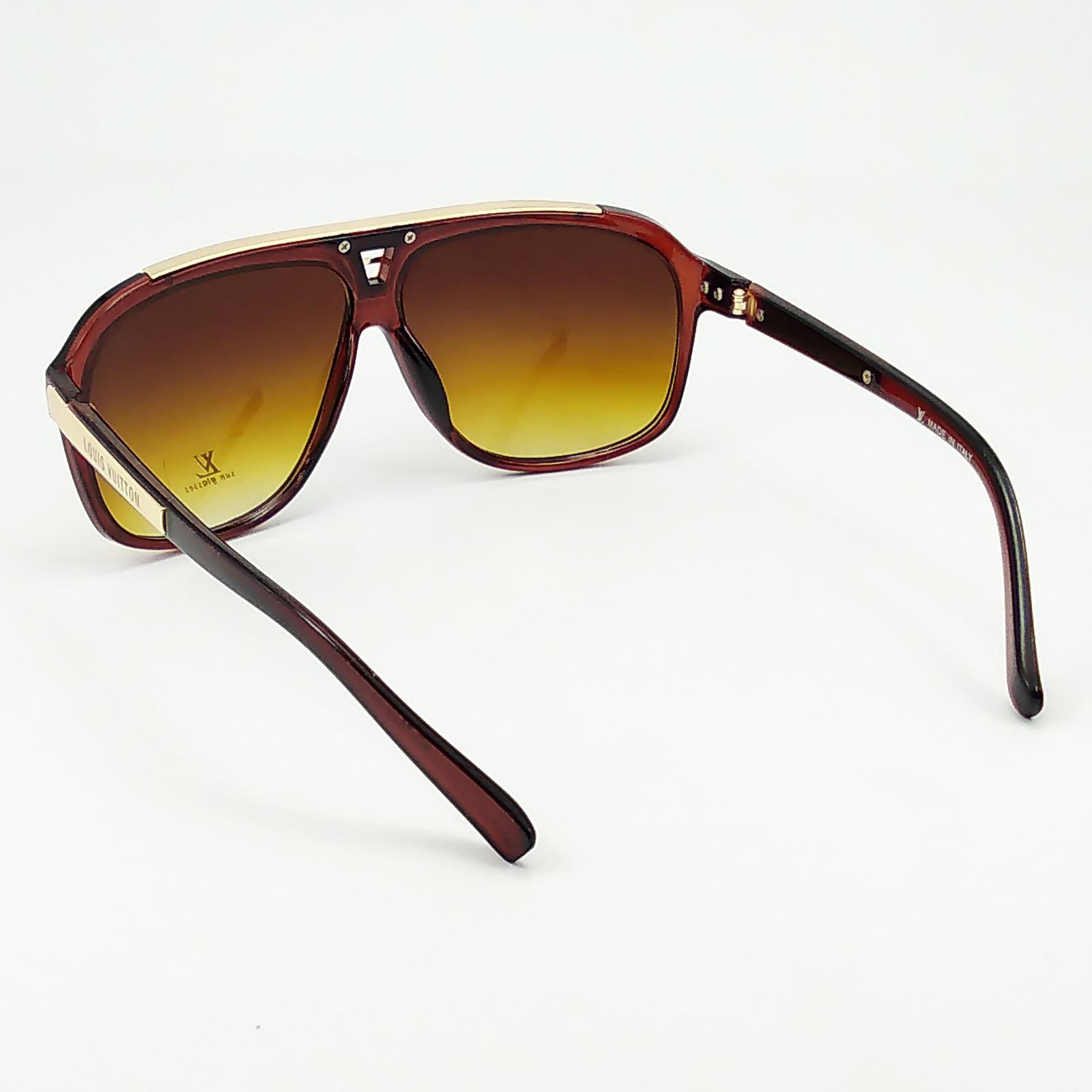 عینک آفتابی فرم چندضلعی