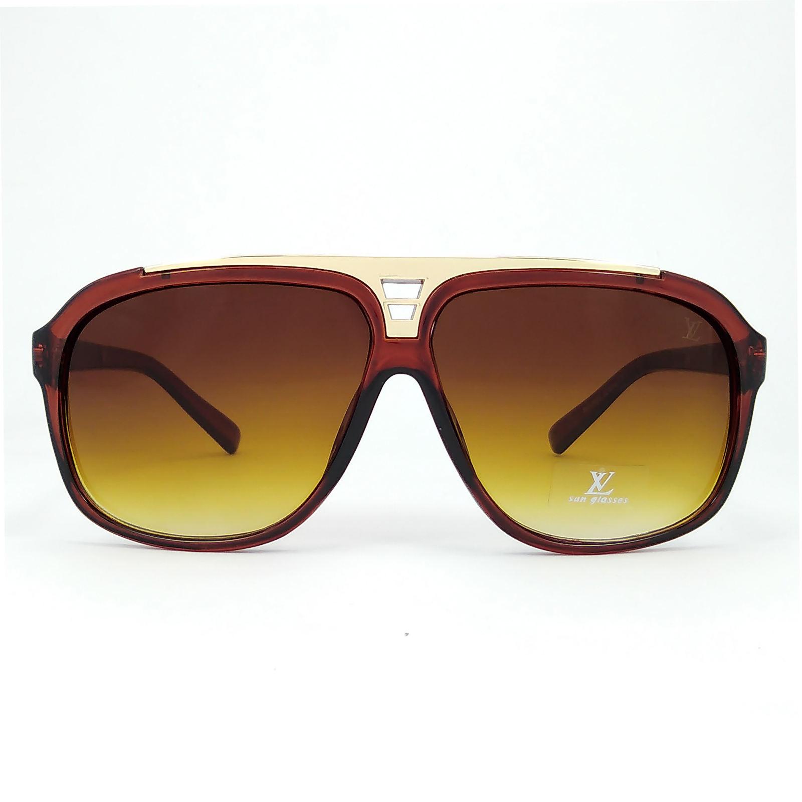 عینک آفتابی زنانه فرم چندضلعی