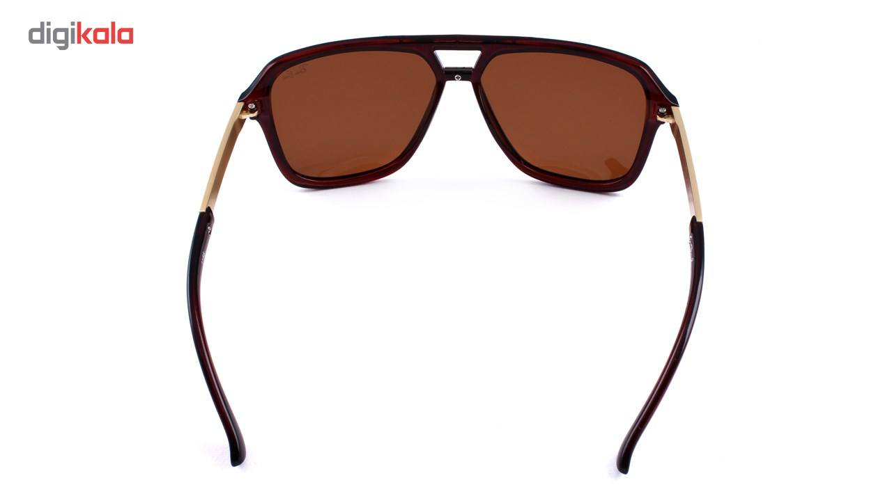عینک آفتابی فرم خلبانی، مستطیلی