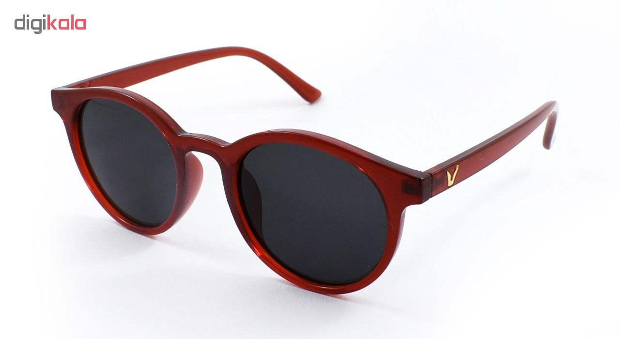 عینک آفتابی زنانه فرم قرمز