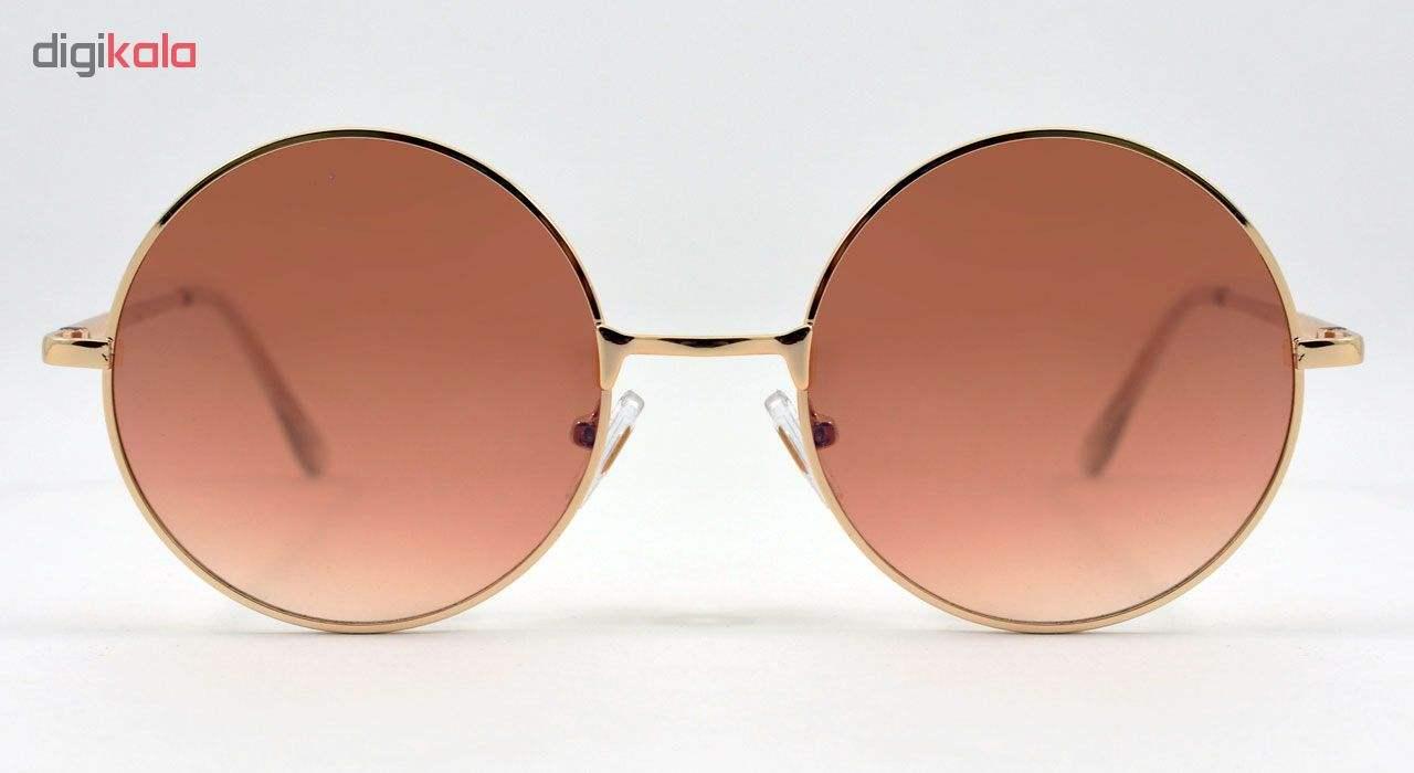 عینک آفتابی زنانه فرم گرد