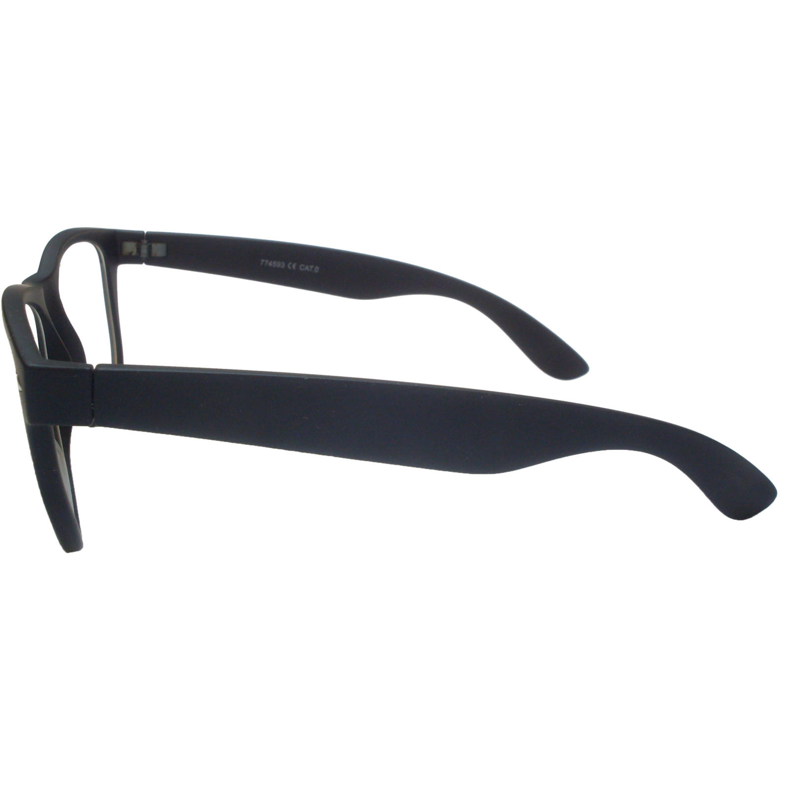 عینک طبی فرم مشکی مربعی
