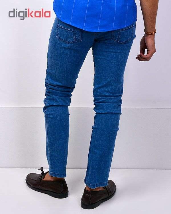 شلوار لی آبی روشن مردانه