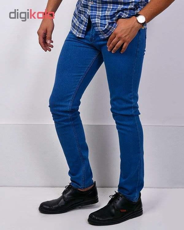 جین آبی روشن مردانه