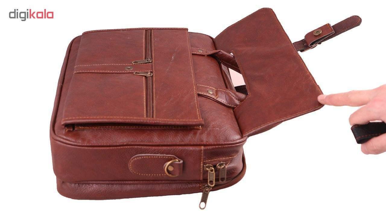 کیف اداری چرم مصنوعی مردانه